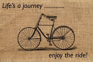 Life is a journey. Enjoy the ride!